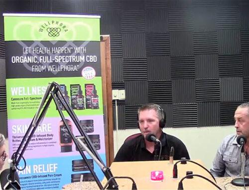 Wellphora on the radio!