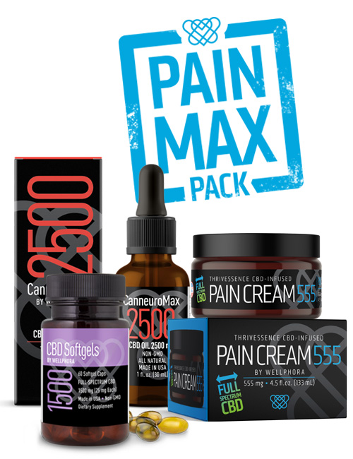 Pain Max Pack CBD