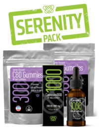 CBD Serenity Pack products