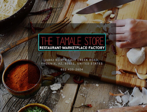 Pick up Wellphora while grabbing some of Phoenix's best tamales at the Tamale Store!