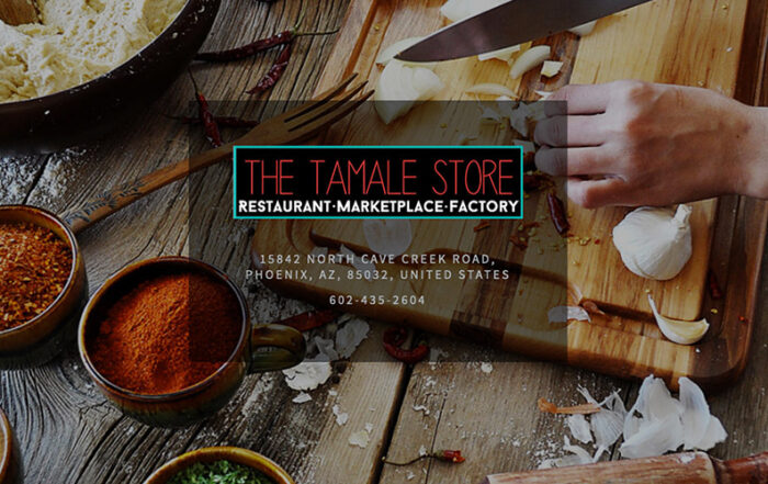 Wellphora products at the Tamales Store