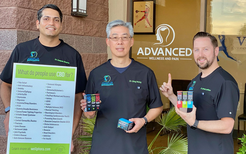 Staff of Advanced Wellness and Pain