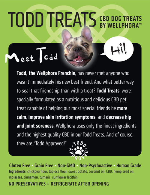 Todd Treats back label