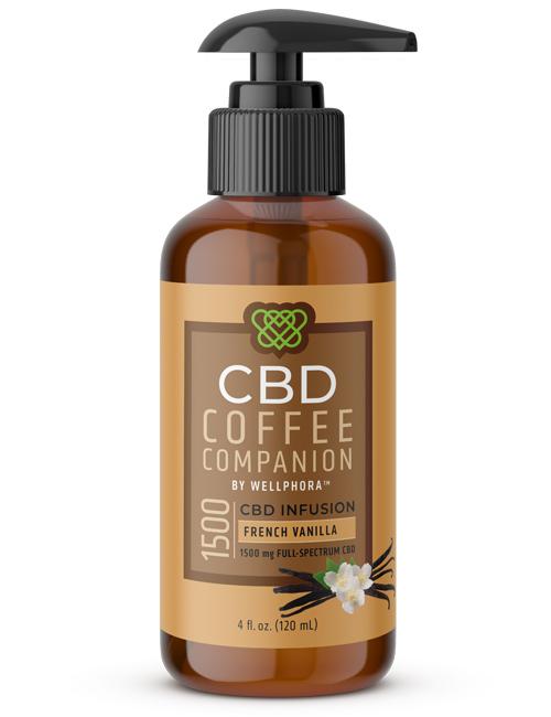 CBD Coffee Companion – French Vanilla
